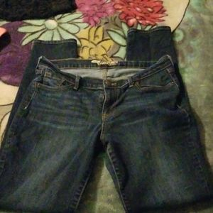 Old navy size 10 long jeans